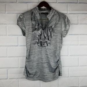 Heart Soul Cap Sleeve black/grey size Large